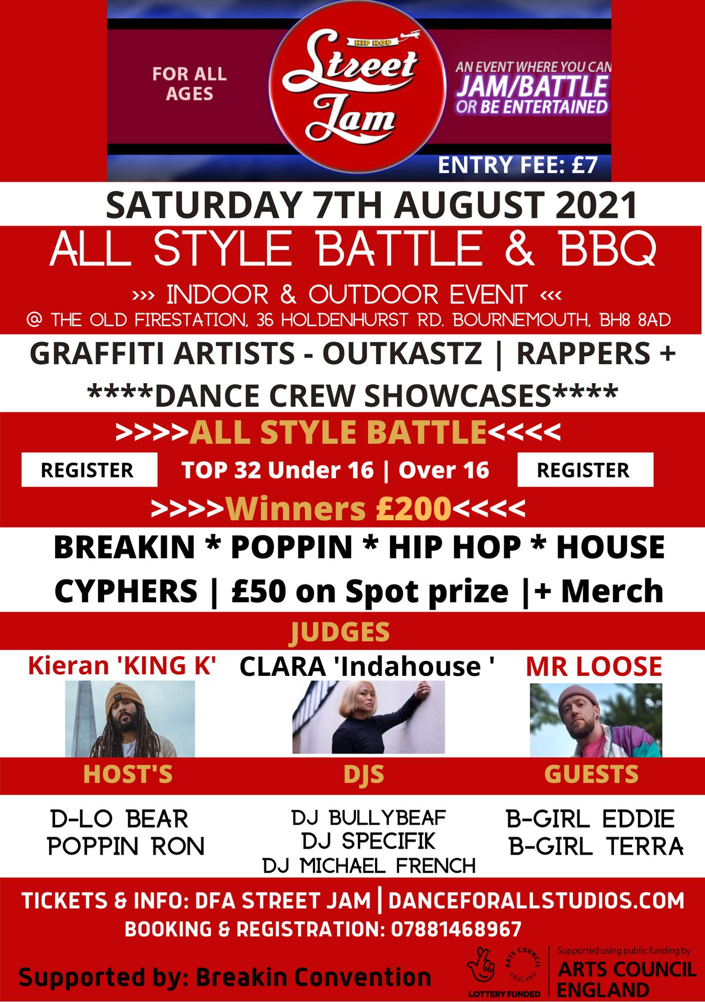 Street Jam Flyer 2